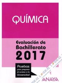 Química - Evaluación Bachillerato 2017
