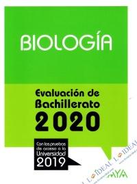 Biología - Evaluación de Bachillerato 2020