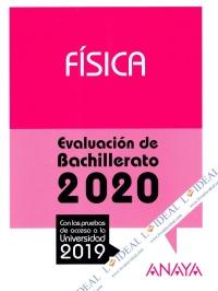 Física - Evaluación de Bachillerato 2020