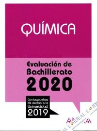 Química - Evaluación de Bachillerato 2020