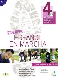 Nuevo Español en Marcha 4 - Cuaderno de Ejercicios + CD